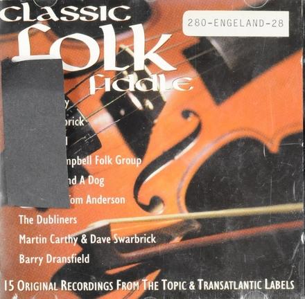 Classic folk fiddle
