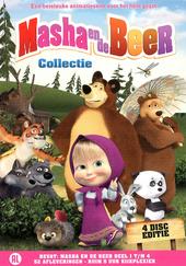 Masha en de beer : collectie. Deel 1 t/m 4