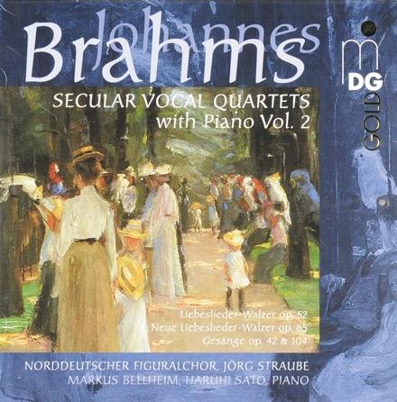 Secular vocal quartets with piano vol.2. vol.2
