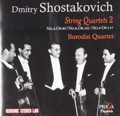 Shostakovich and the Borodin Quartet in Moscow vol. II. vol.2