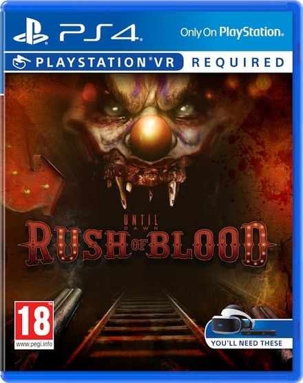 Until dawn : rush of blood