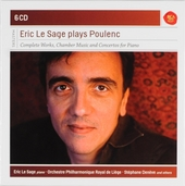 Eric Le Sage plays Poulenc : complete works, chamber music and concertos for piano