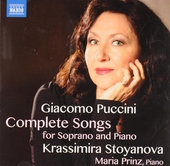 Complete songs for soprano and piano