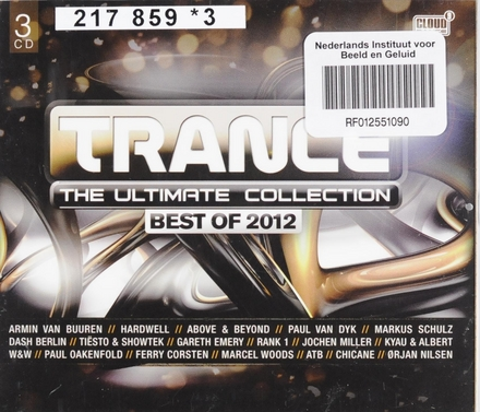 Trance the ultimate collection : Best of 2012