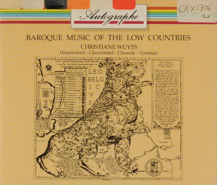 Baroque music of the low countries
