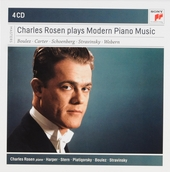 Charles Rosen plays modern piano music