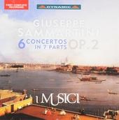 6 concertos in 7 parts op.2