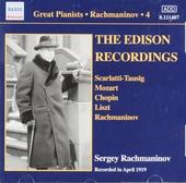 Solo piano recordings 4 : The Edison recordings 1919. vol.4