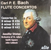 Jennifer Stinton plays C.P.E. Bach flute concertos