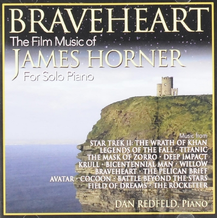 Braveheart : The film music of James Horner for solo piano