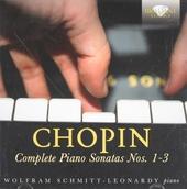 Complete piano sonatas nos.1-3
