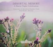 Immortal memory : A Burns night celebration