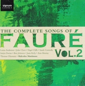The complete songs of Fauré. Vol. 2