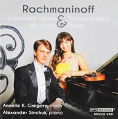 Complete works & transcriptions for violin & piano