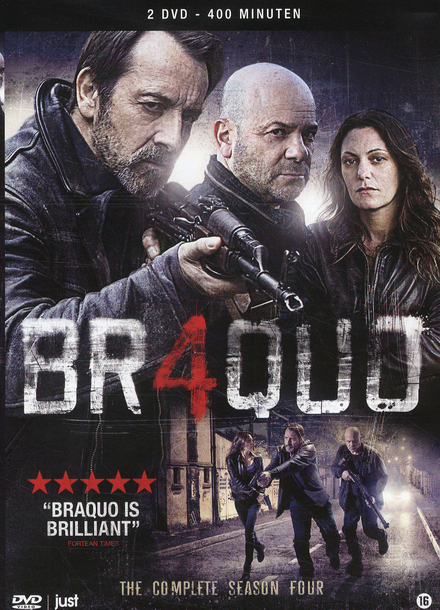 Braquo. The complete season four