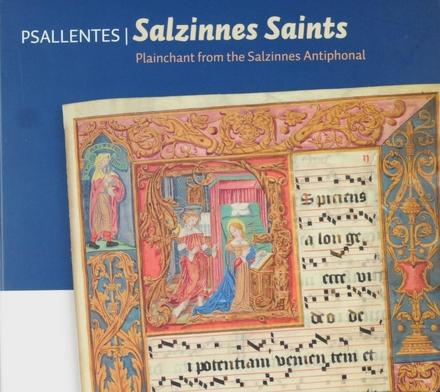 Salzinnes saints : Plainchant from the Salzinnes antiphonal
