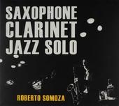 Saxophone clarinet jazz solo