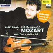 Violin concertos nos 1-3
