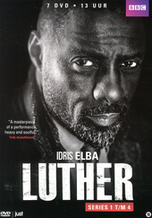 Luther. Series 1 t/m 4