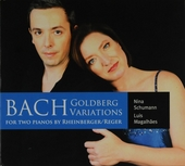 Goldberg variations for two pianos by Rheinberger/Reger