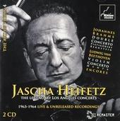 Jascha Heifetz : The legendary Los Angeles concerts. vol.4