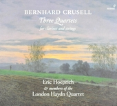 Three quartets for clarinet and strings