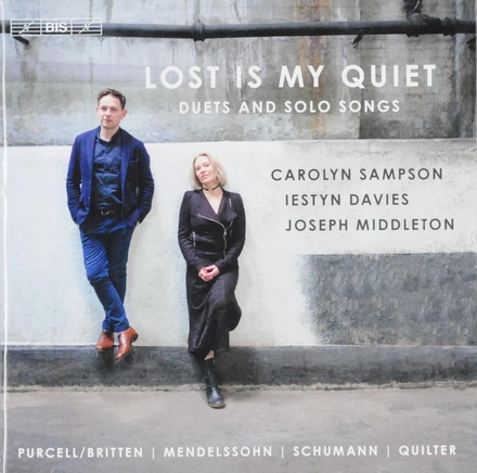 Lost is my quiet : duets and solo songs