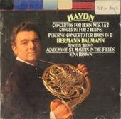 Concertos for horn nos.1 & 2