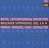Bruckner symphonies nos.3 & 4
