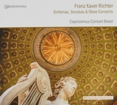 Sinfonias, sonatas & oboe concerto
