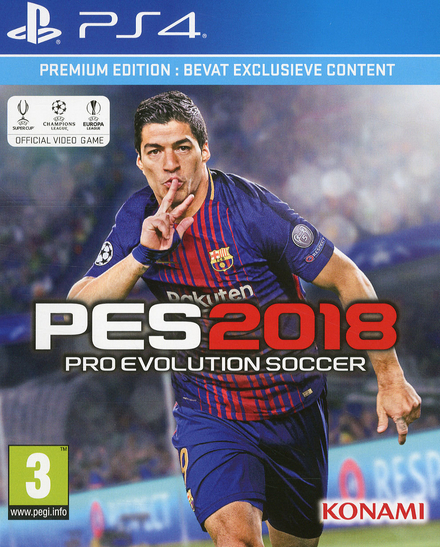 PES 2018 : Pro Evolution Soccer : premium edition