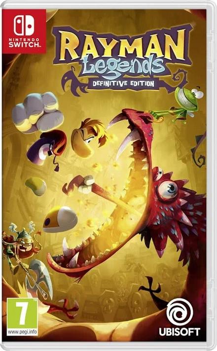 Rayman legends : definitive edition
