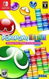 Puyo puyo tetris : frantic four-player puzzle mashup!