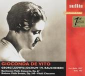 Violin concerto, op.61