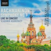 Symphony no.1 : Live in concert