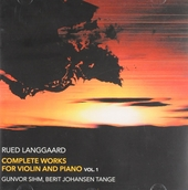 Complete works for violin and piano vol.1. vol.1