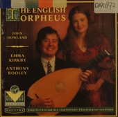 The English orpheus : songs for voice and lute