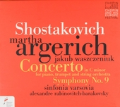 Concerto in c minor for piano, trumpet and string orchestra