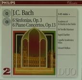 6 Sinfonias, Op. 3 • 6 Piano Concertos, Op. 13