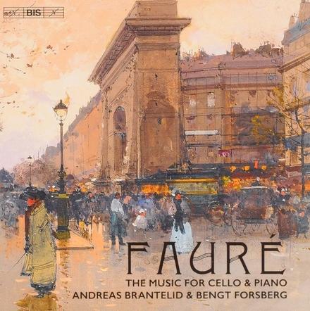 The music for cello & piano