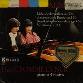 Works for piano 4 hands. Vol. II