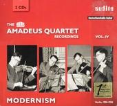 The Rias Amadeus Quartet recordings : Modernism. vol.4