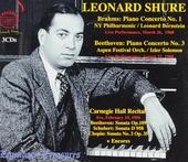 Leonard Shure : Live performances