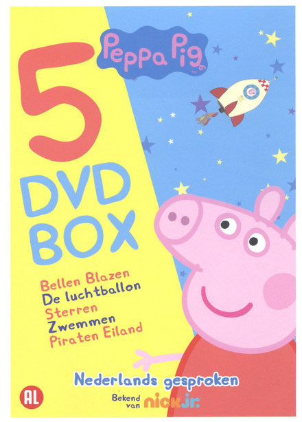Peppa Pig : 5 dvd box