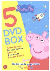 Peppa Pig : 5 dvd box