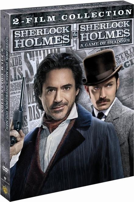 Sherlock Holmes & Sherlock Holmes : a game of shadows : 2-film collection