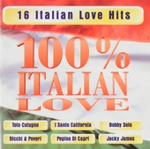 100% Italian love : 16 Italian love hits