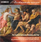 Secular cantatas. Vol. 9, The contest between Phoebus and Pan