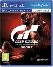GT : Gran Turismo sport : the real driving simulator