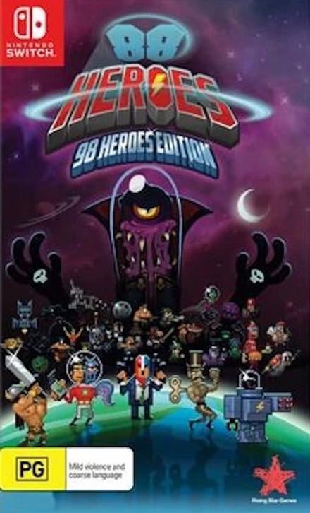 88 heroes : 98 heroes edition